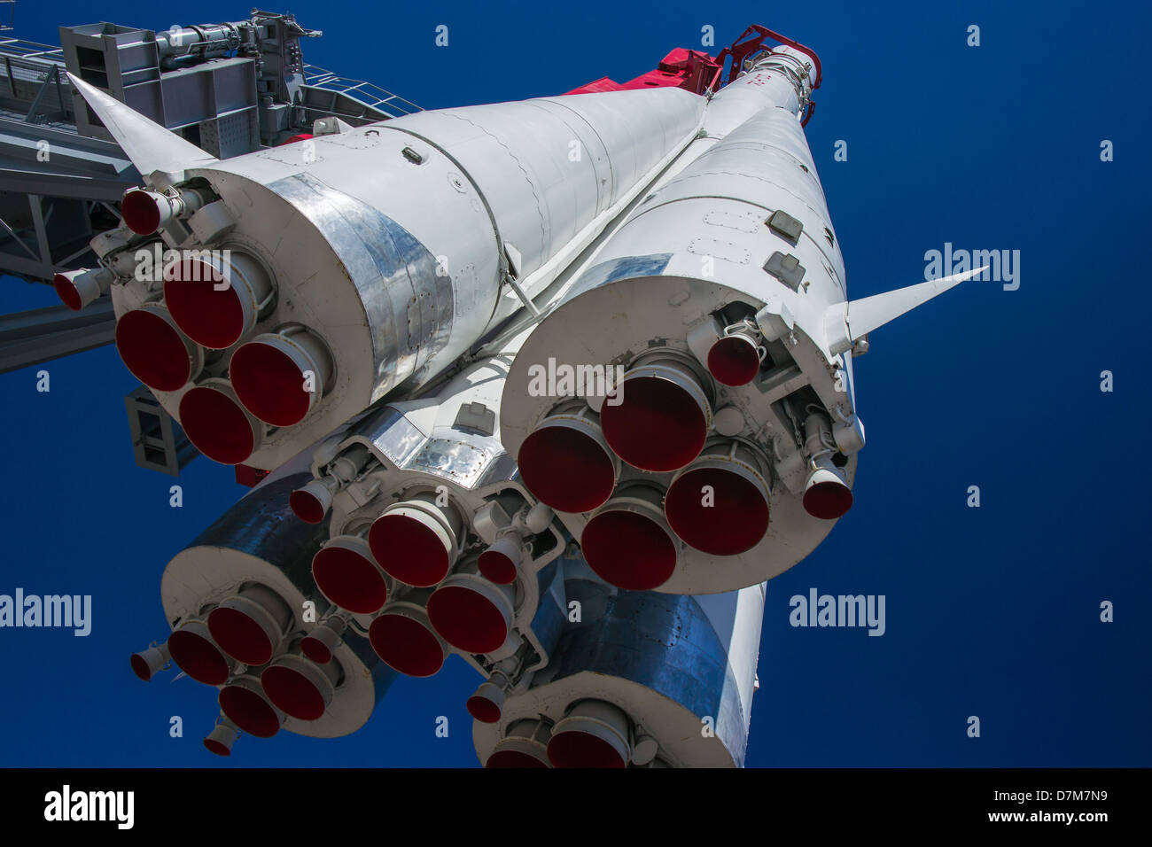 Spacecraft Vostok-1 (East-1) of Gagarin - Stock Image