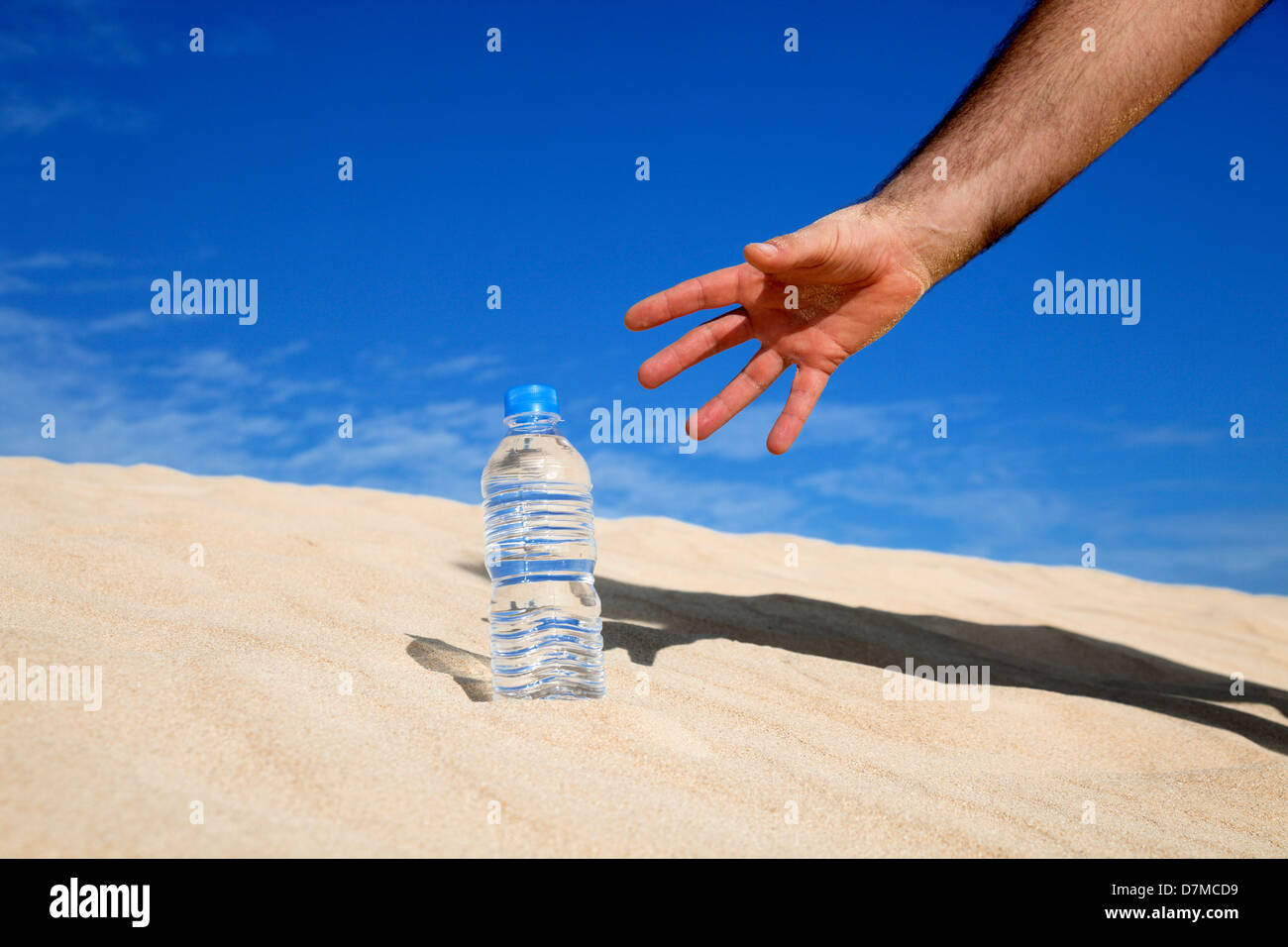 Thirst, conceptual image Stock Photo