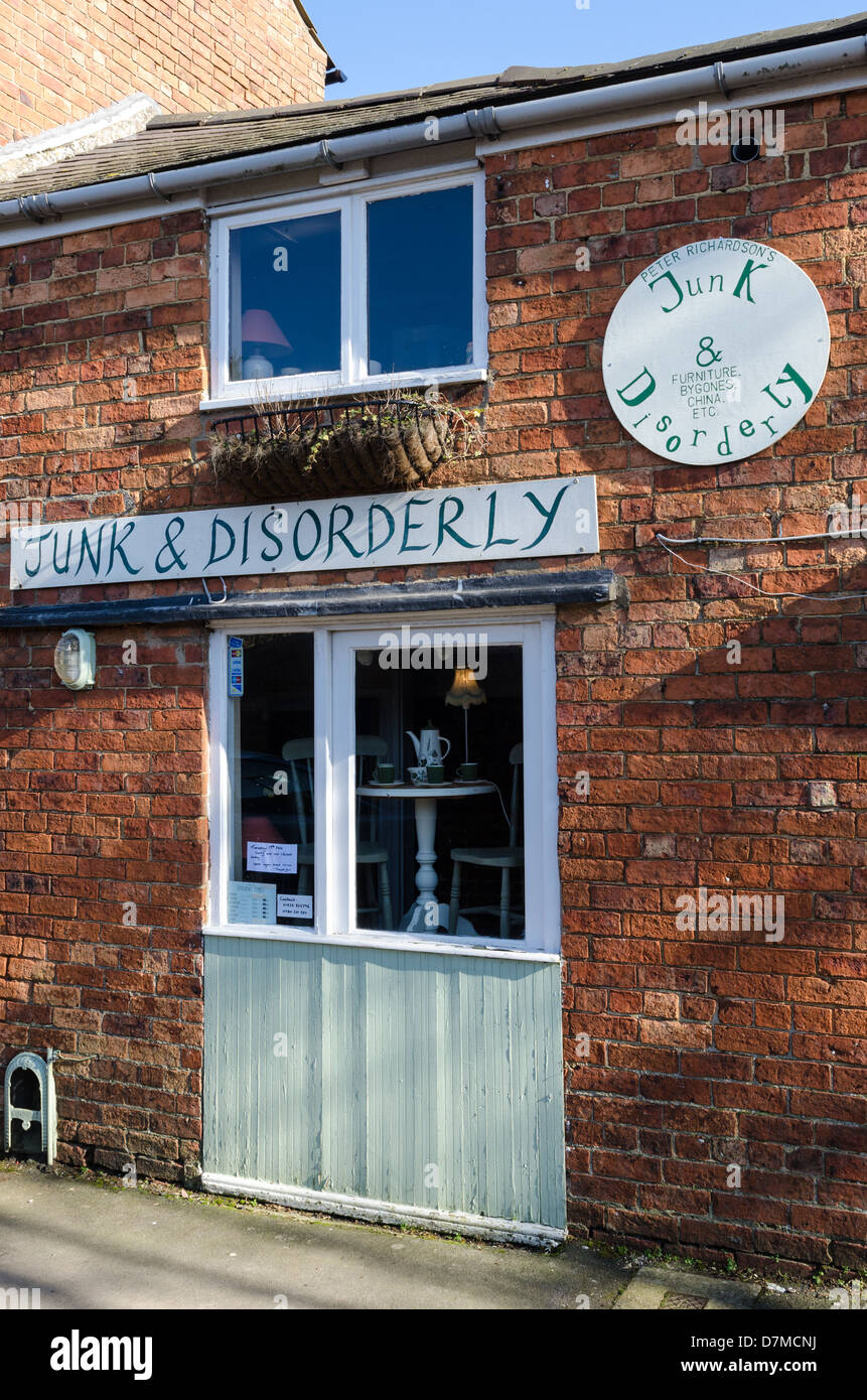 02c3605618a Junk and Disorderly antique and second hand shop in Uppingham