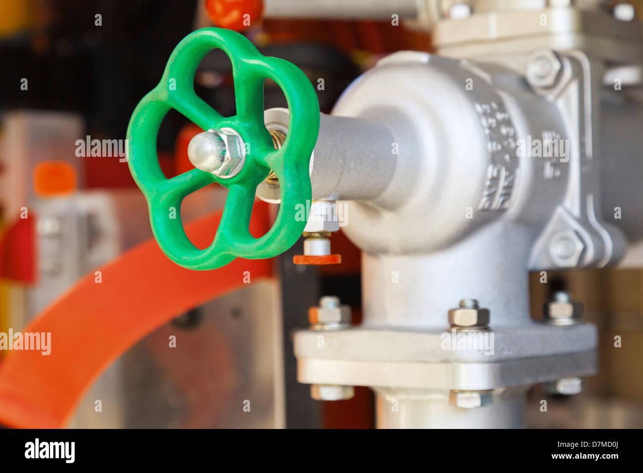 Valve wheel - Stock Image