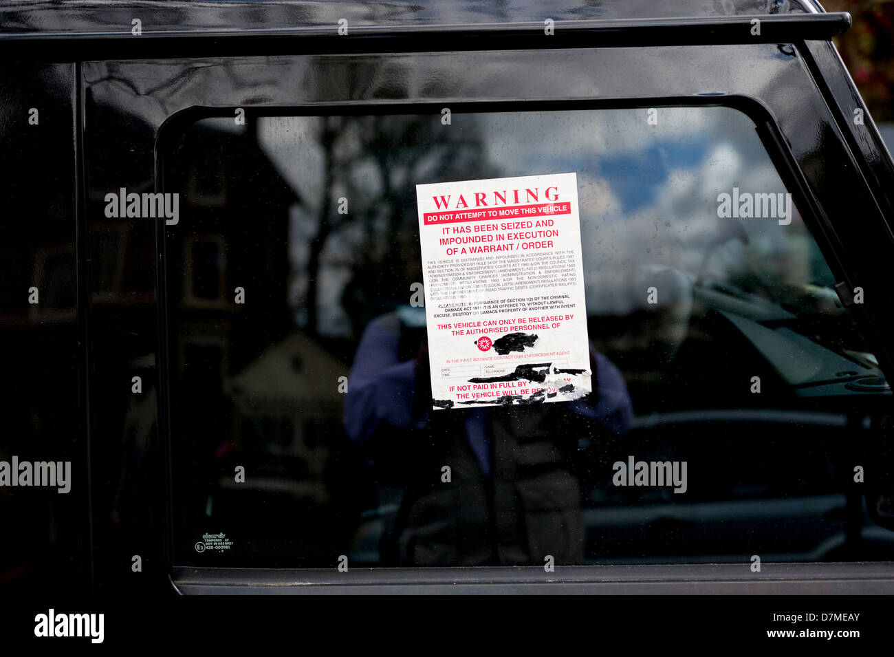Warning this not abandoned Vehicle Car Van Bedroom Wall Window Decal Sticker