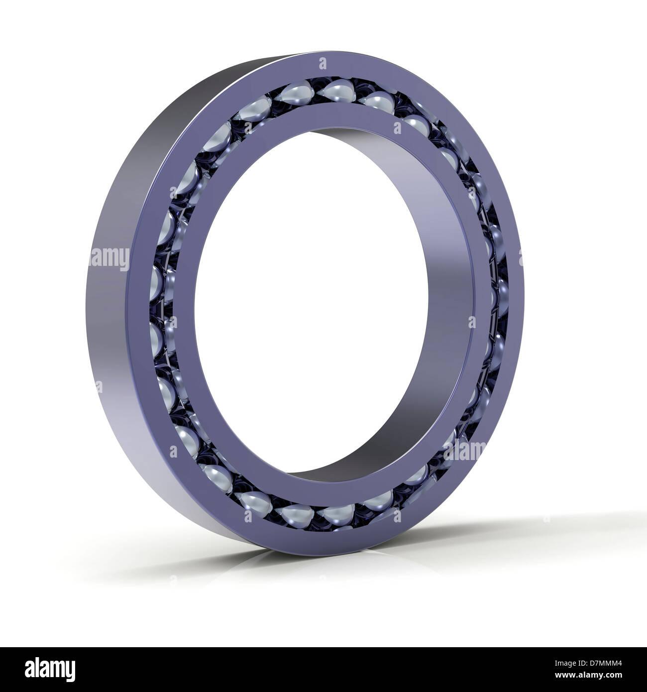 Roller bearing, artwork - Stock Image