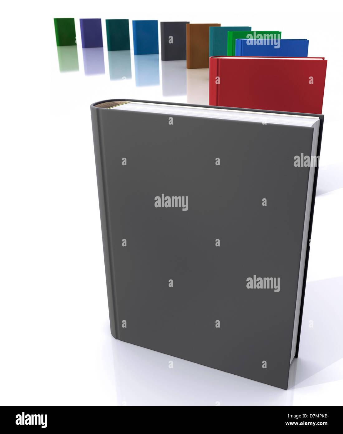 Books, artwork - Stock Image