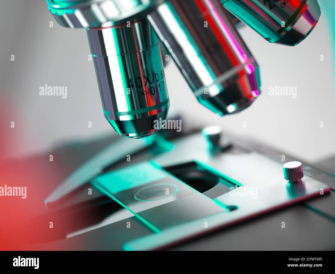 Light microscope - Stock Image