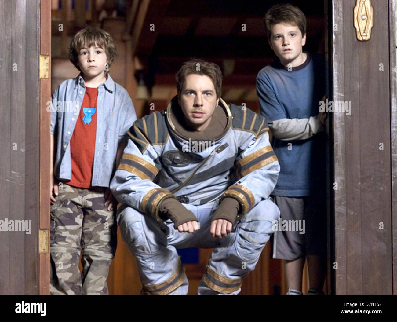 ZATHURA  2005 Columbia Pictures film with  Dax Shepard as Astronaut - Stock Image