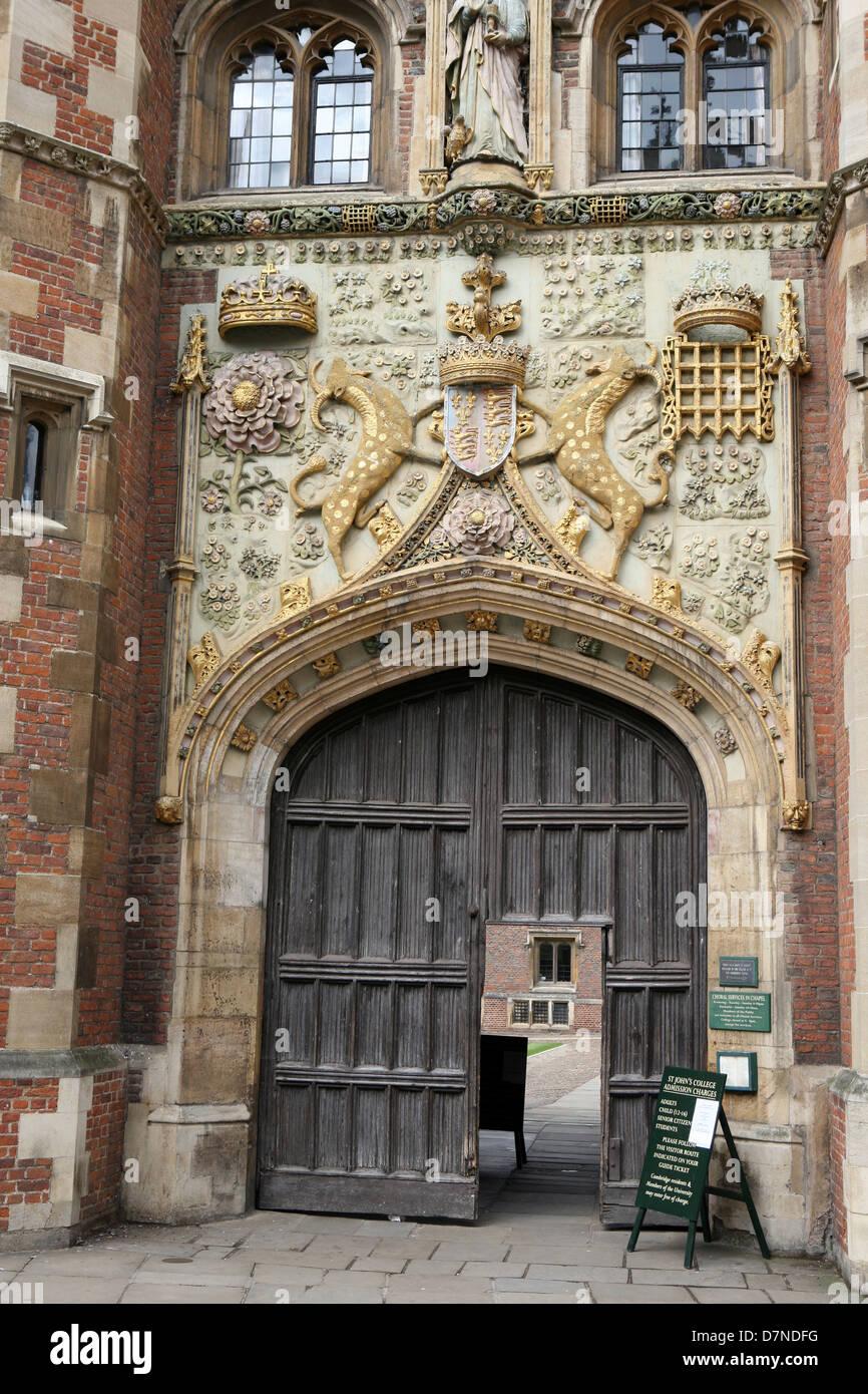 Cambridge University town Cambridgeshire England UK Europe - Stock Image