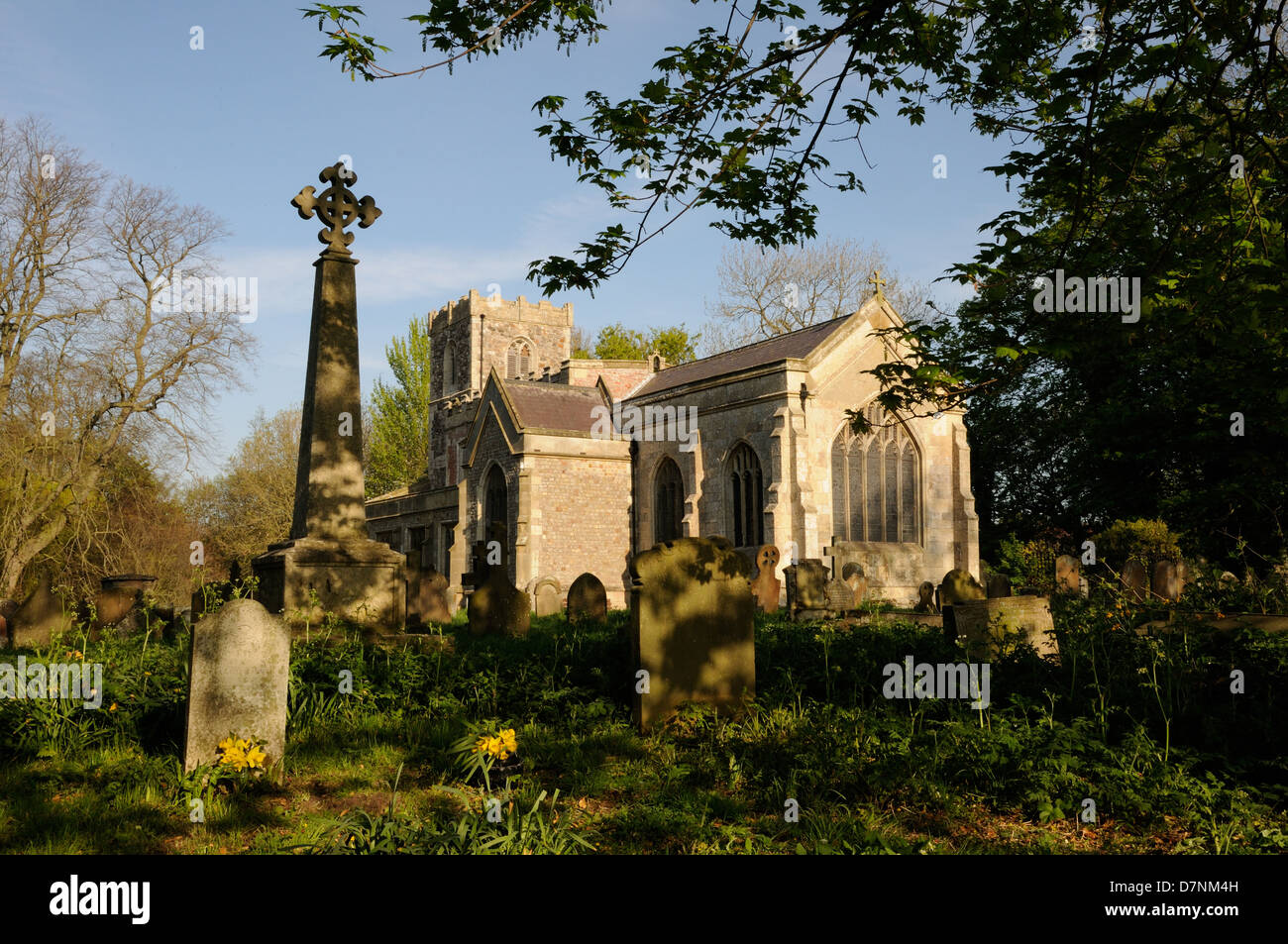All Saints' Church, Roos, East Yorkshire, England Stock Photo