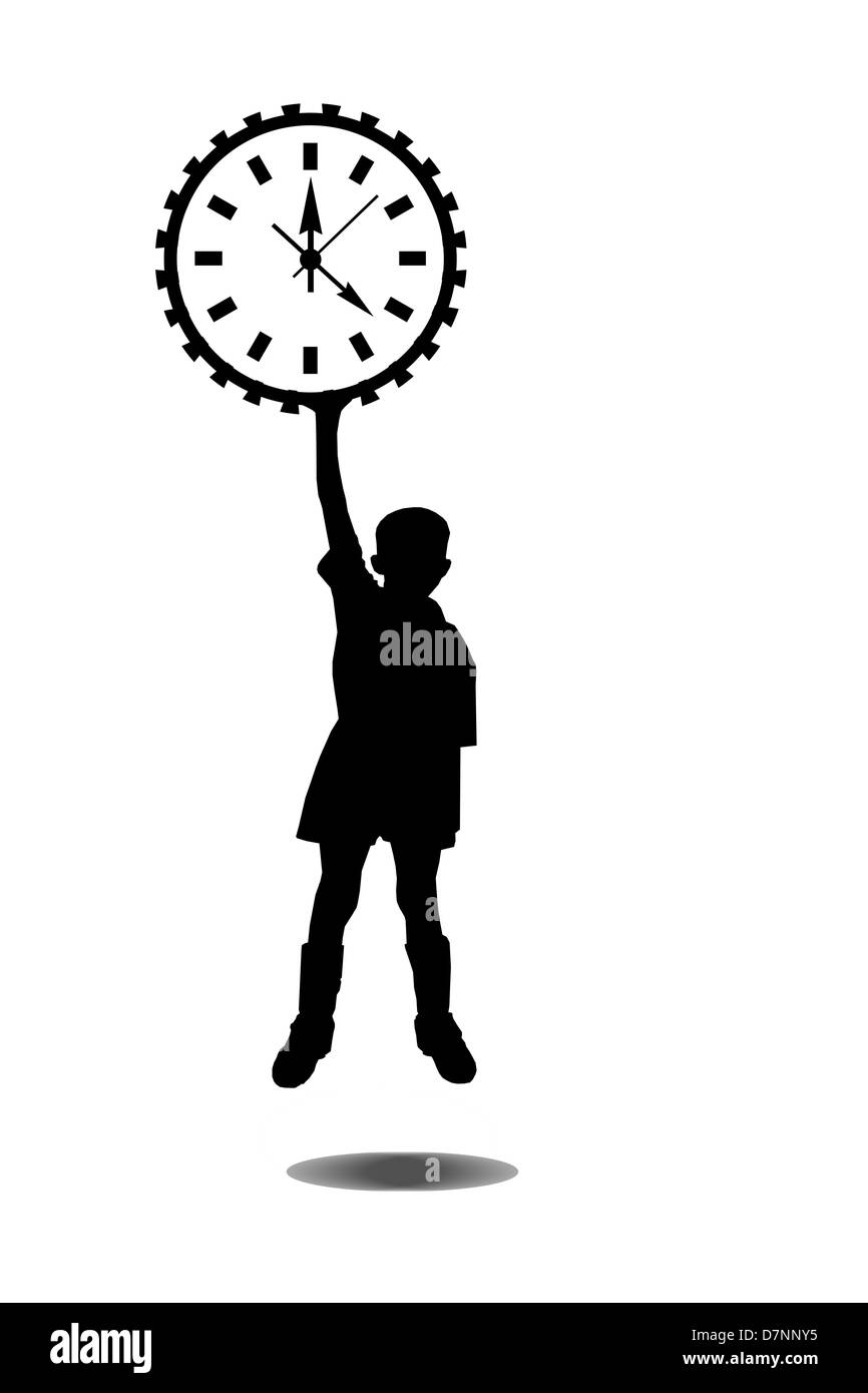 on time - Stock Image