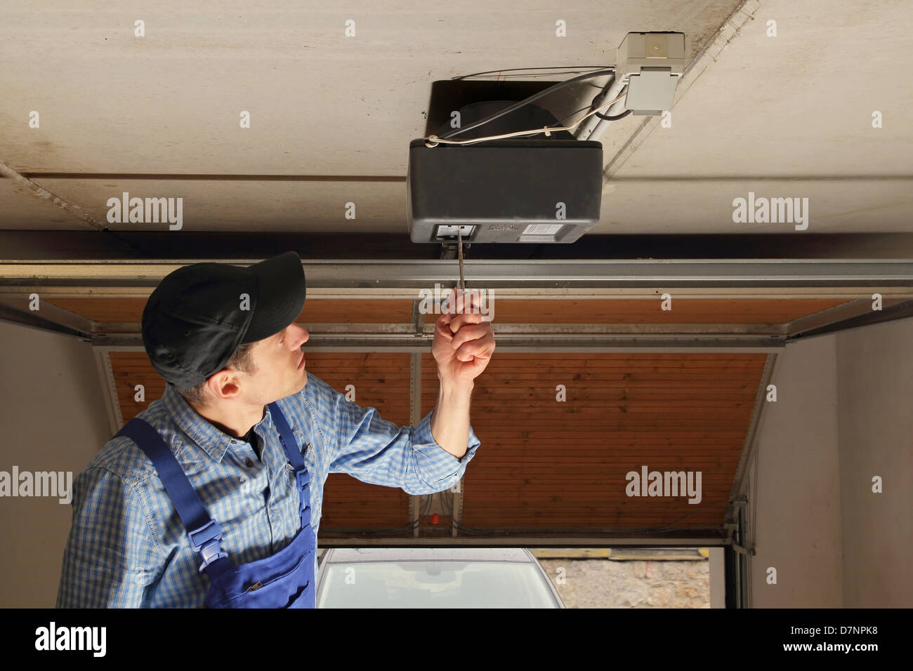 Garage Door Opener High Resolution Stock Photography And Images Alamy