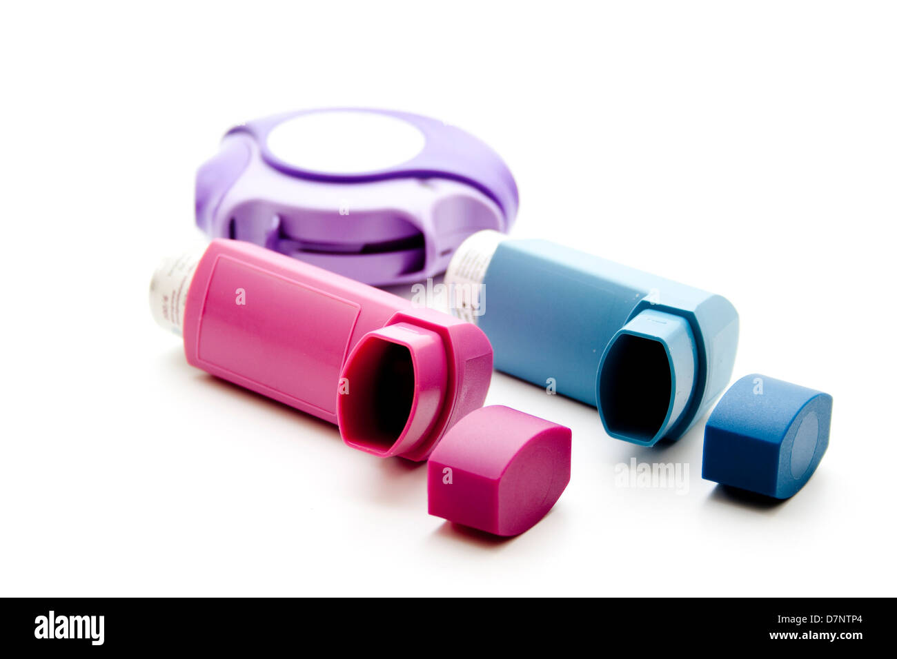 Asthma spray - Stock Image