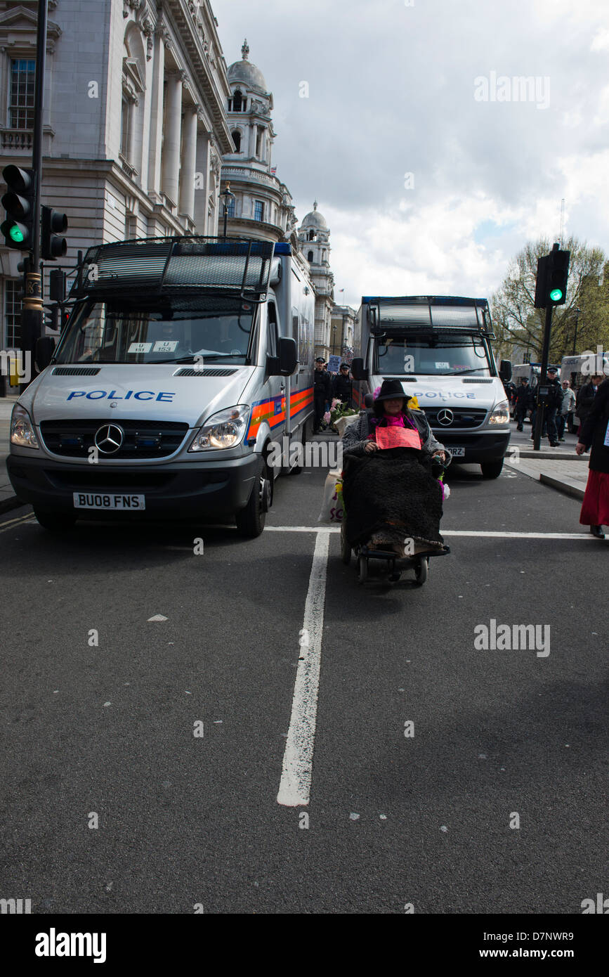 99% International Day Against austerity held on the 04th May 2013 Starting in Trafalgar Square, London. - Stock Image