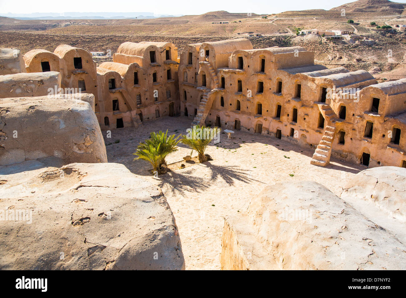 Ksar Ouled Soltane near Tataouine Tunisia Stock Photo