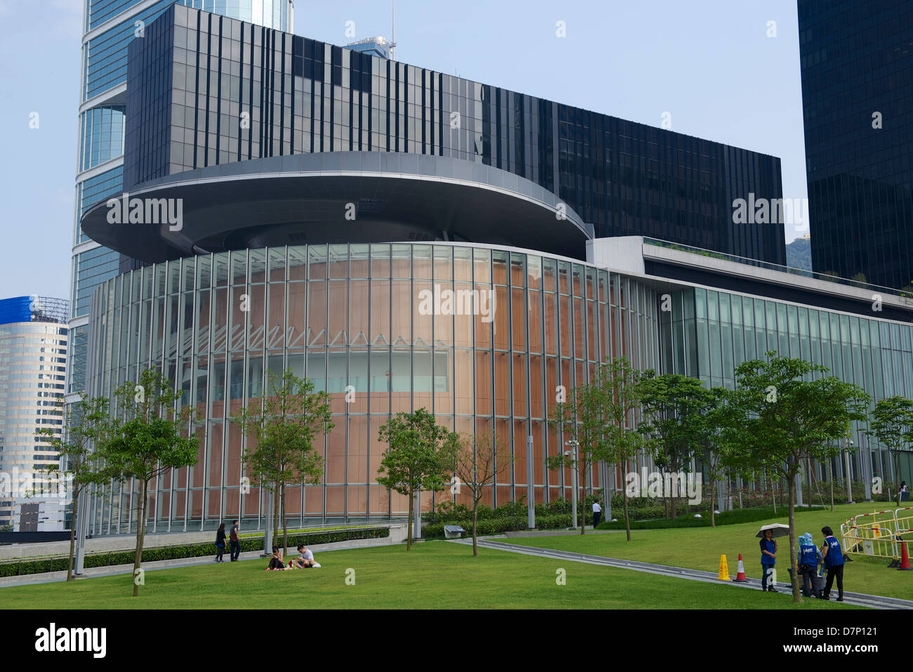 The new government offices in Tamar, Hong Kong - Stock Image