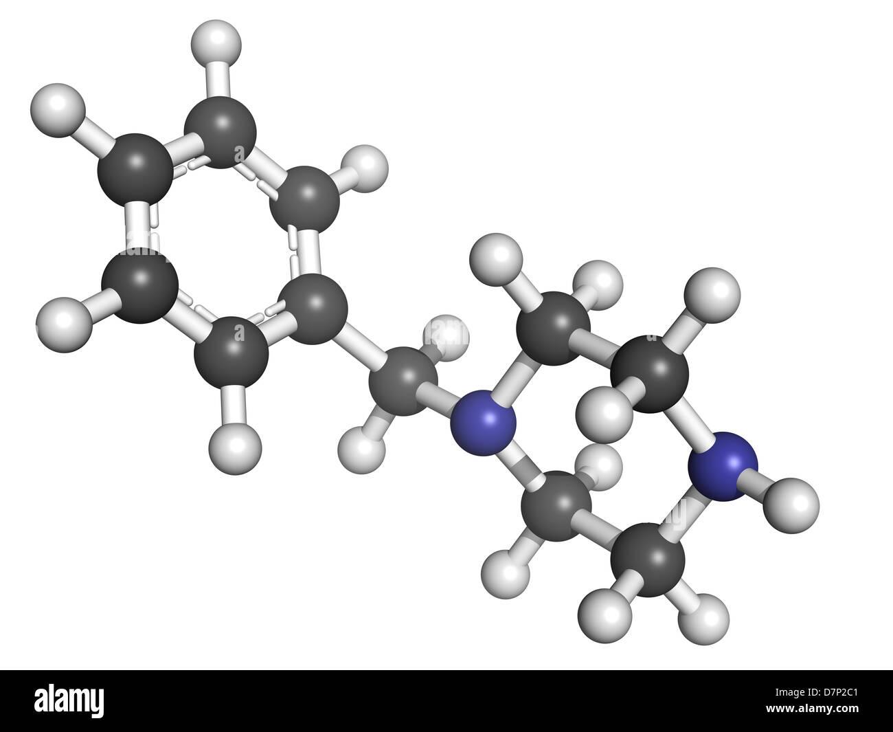 Dibenzylpiperazine