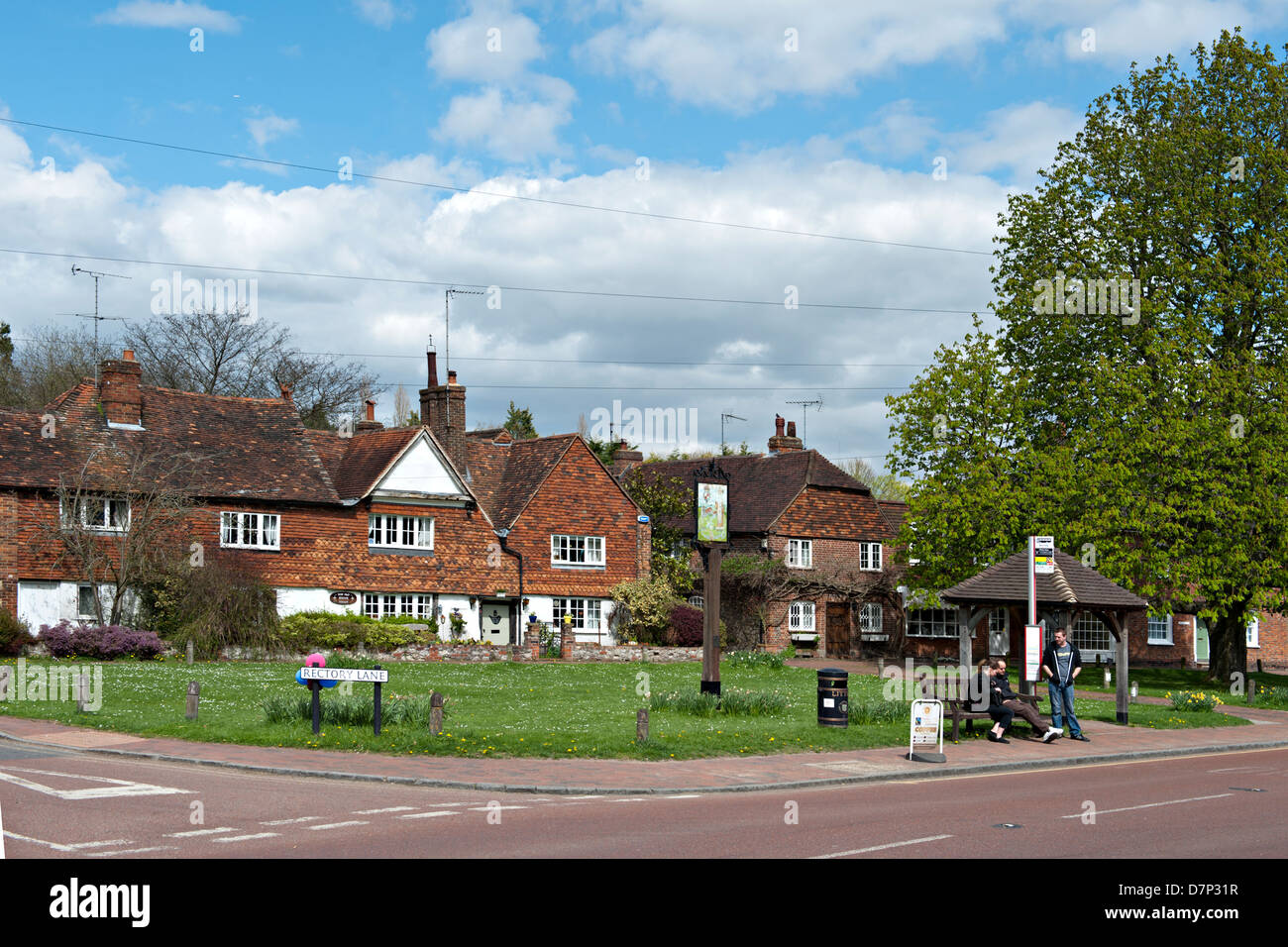 Brasted Village, Kent, UK - Stock Image