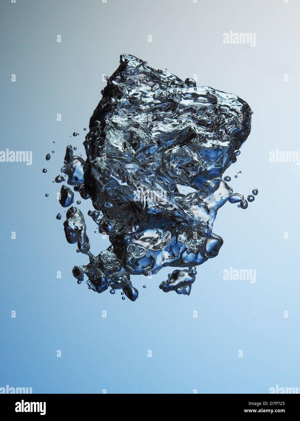 Liquid in Motion - Stock Image