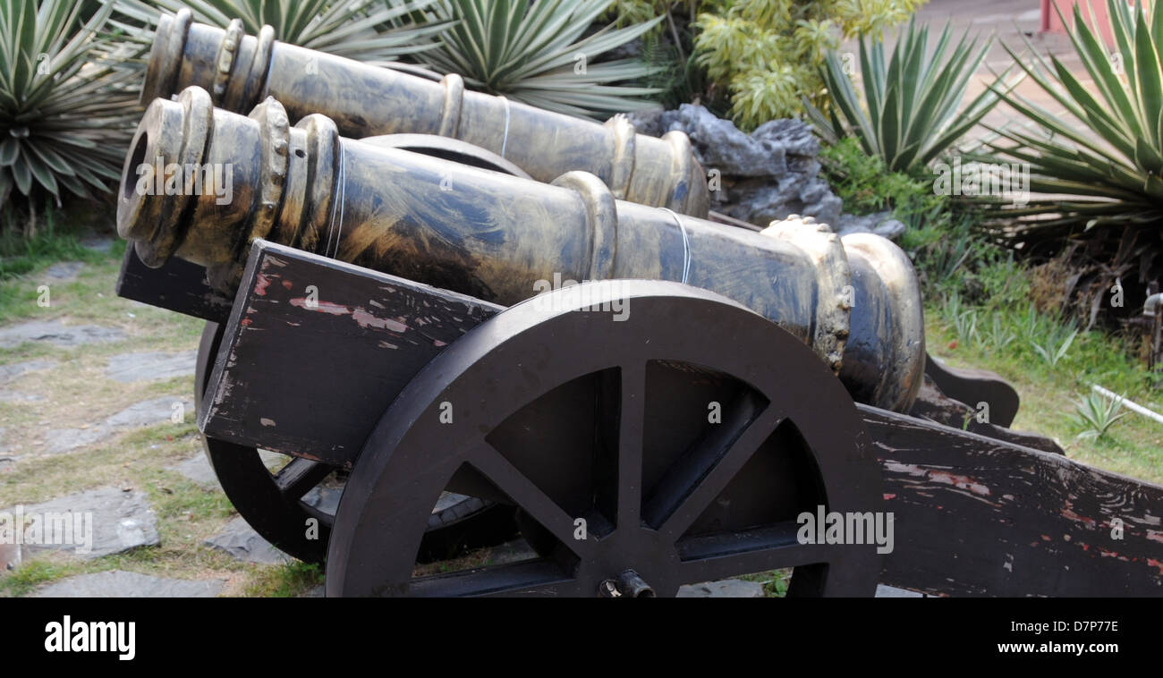 cannons in china - Stock Image
