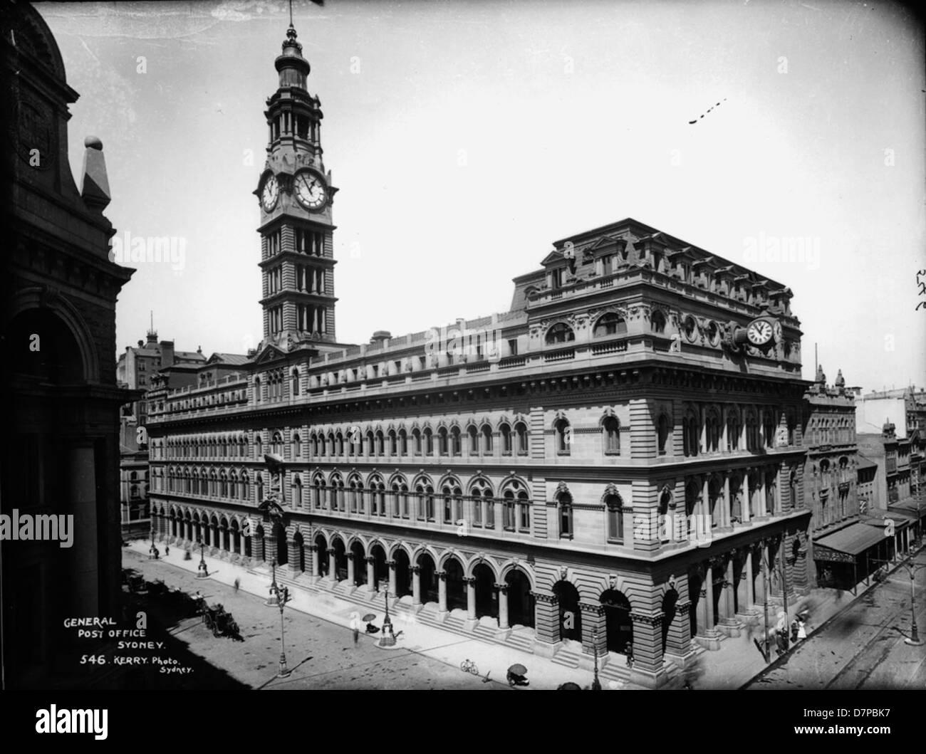 General Post Office, Sydney - Stock Image
