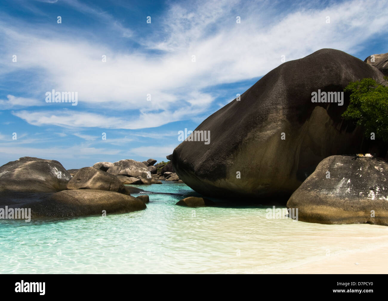 Koh Payu Island, Mu Ko Similian Marine National Park, Andamanensee - Stock Image