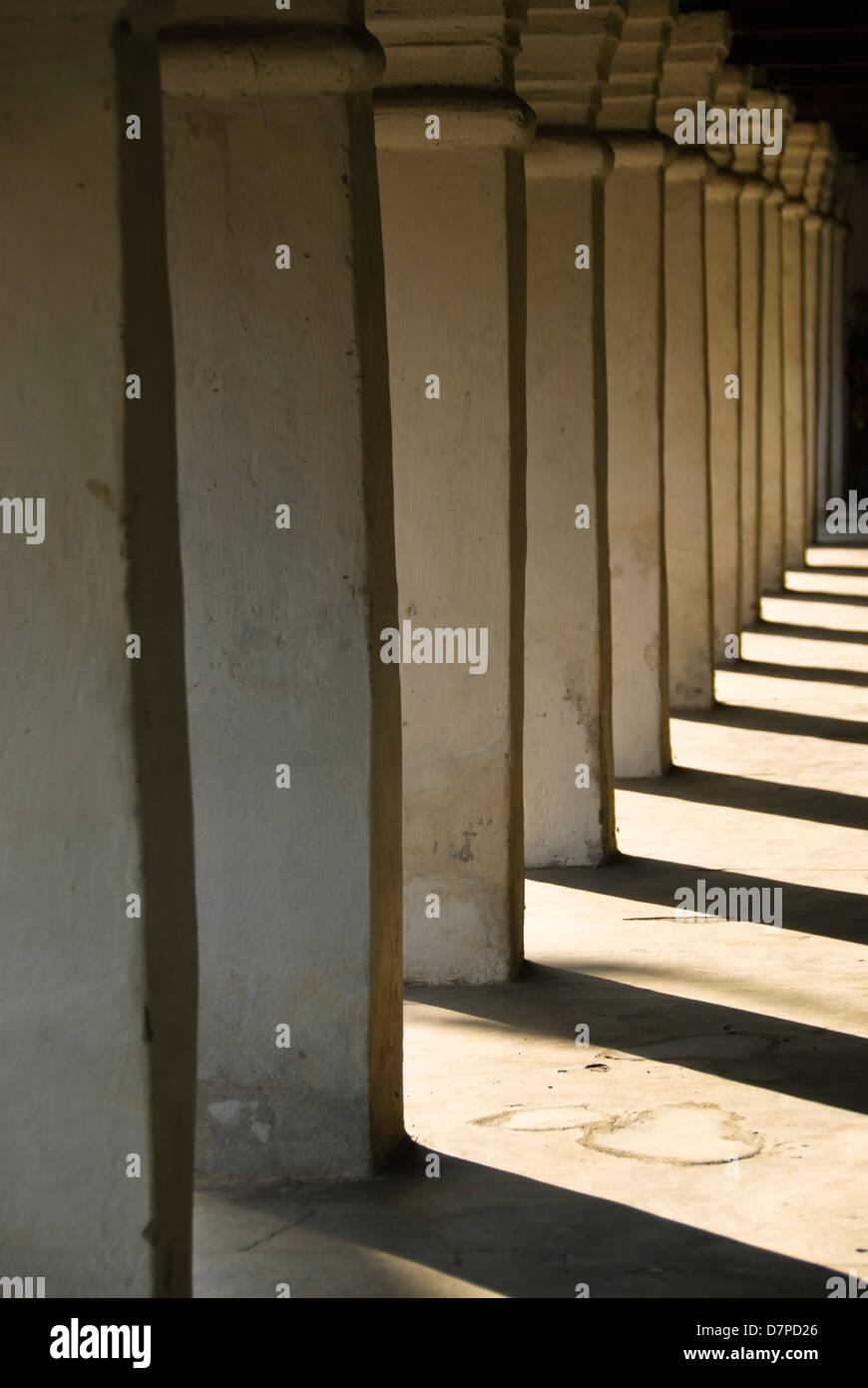 Saeulengang, Arcade Stock Photo