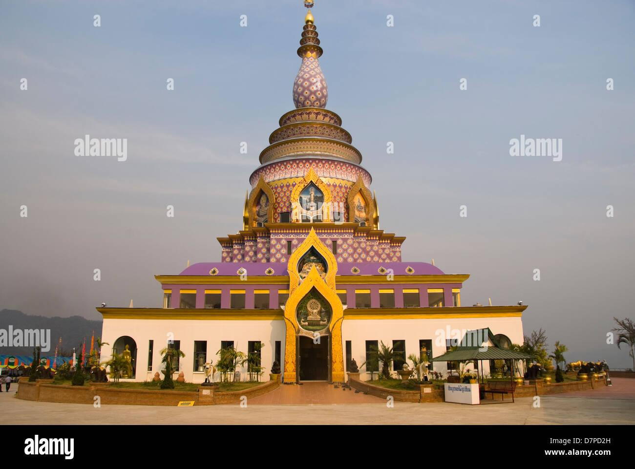 Wat Thaton, Chiang Mai, Mae Ai, Thailand - Stock Image