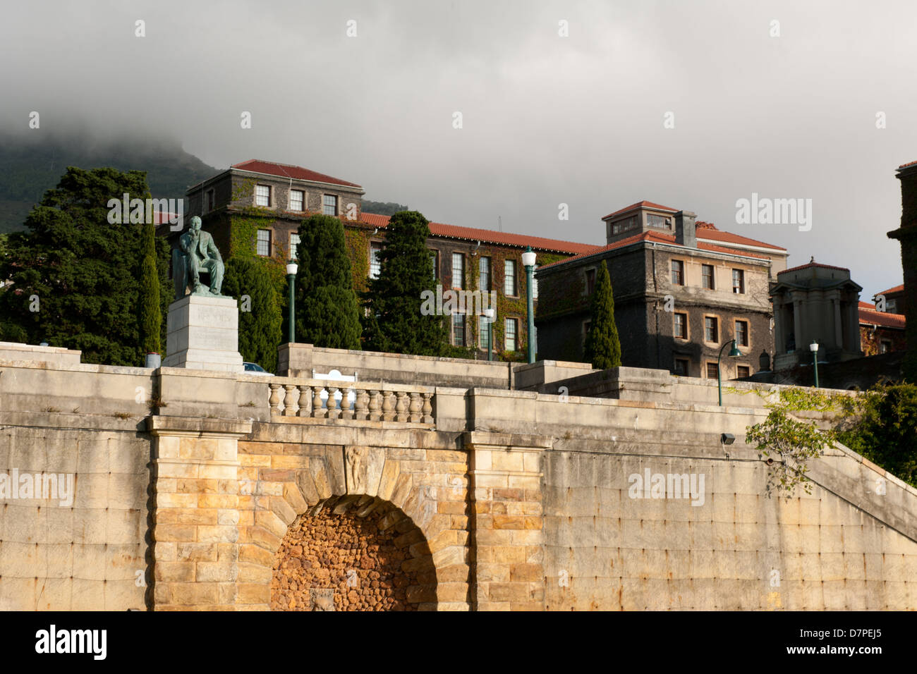 UCT, University of Cape Town, South Africa - Stock Image