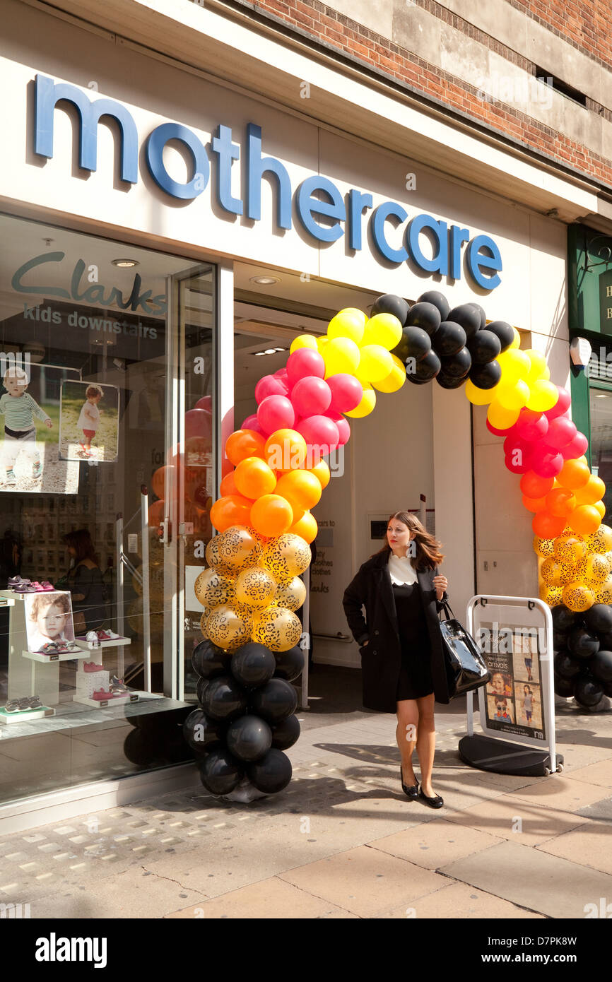Mothercare store, Oxford street, central London UK - Stock Image
