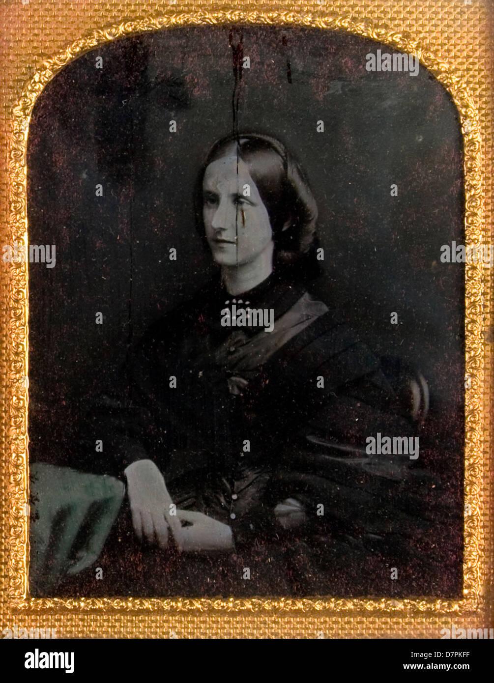 Mrs. Robert Marcetti Russell - Stock Image