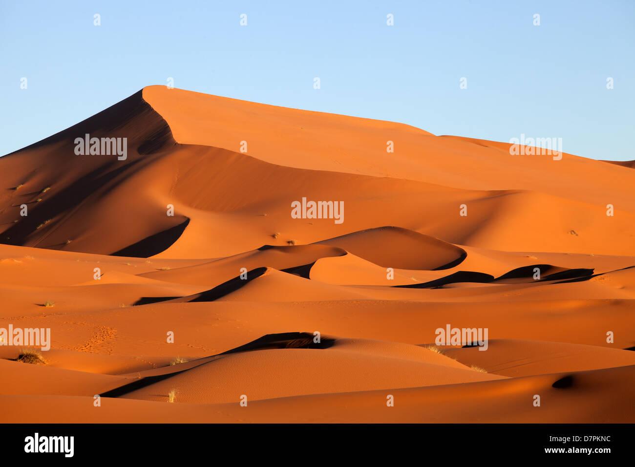 Erg Chebbi: After Sunrise - Stock Image