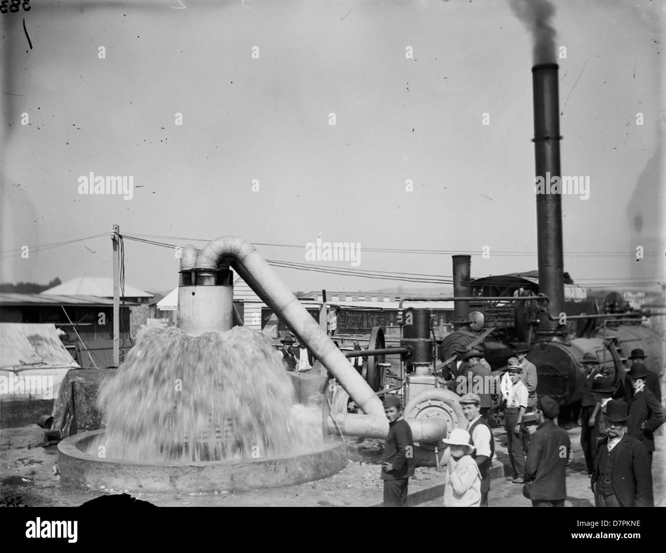 Clyde display, the Royal Easter Show - Stock Image