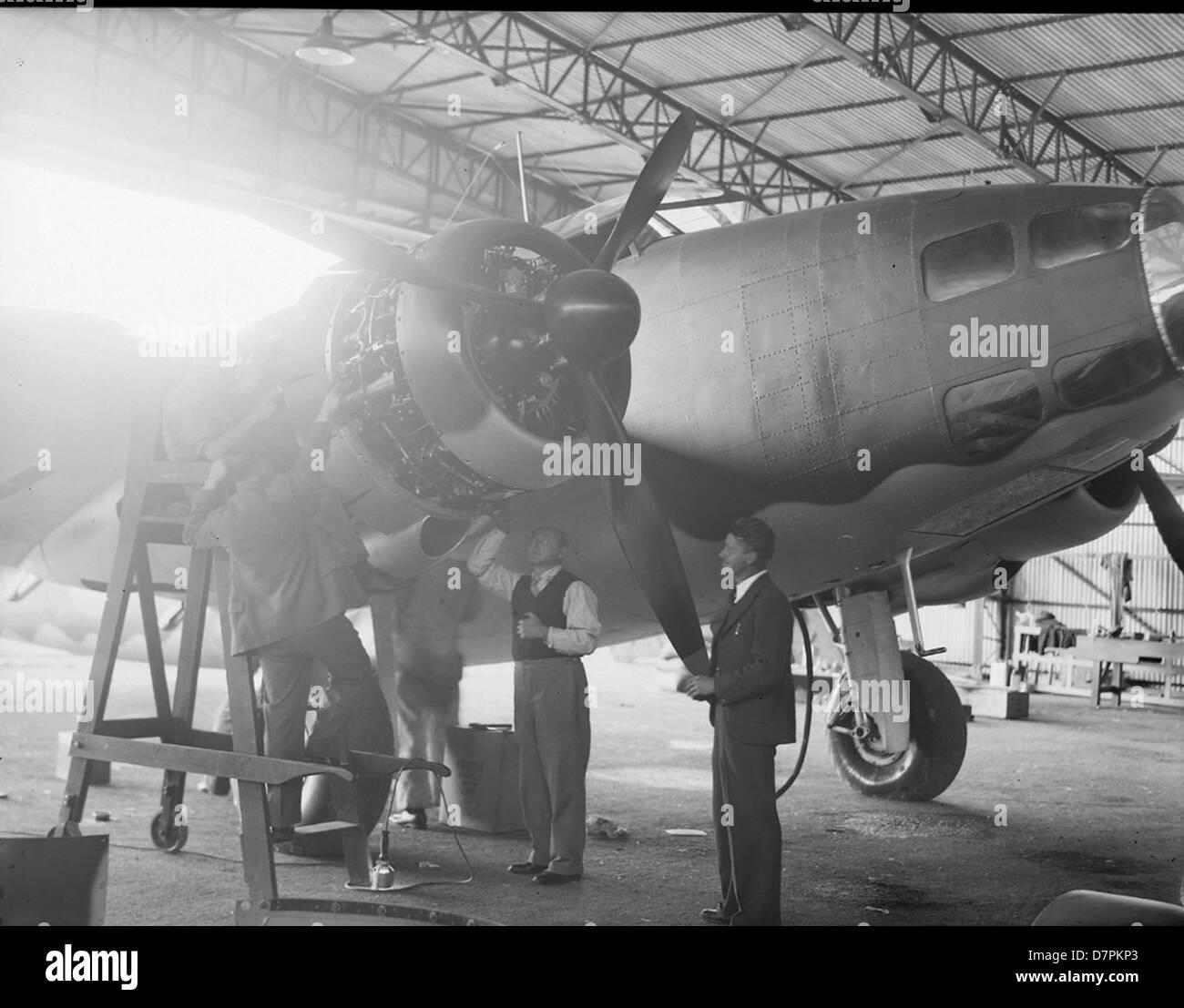 Lockheed Hudson Bomber - Stock Image