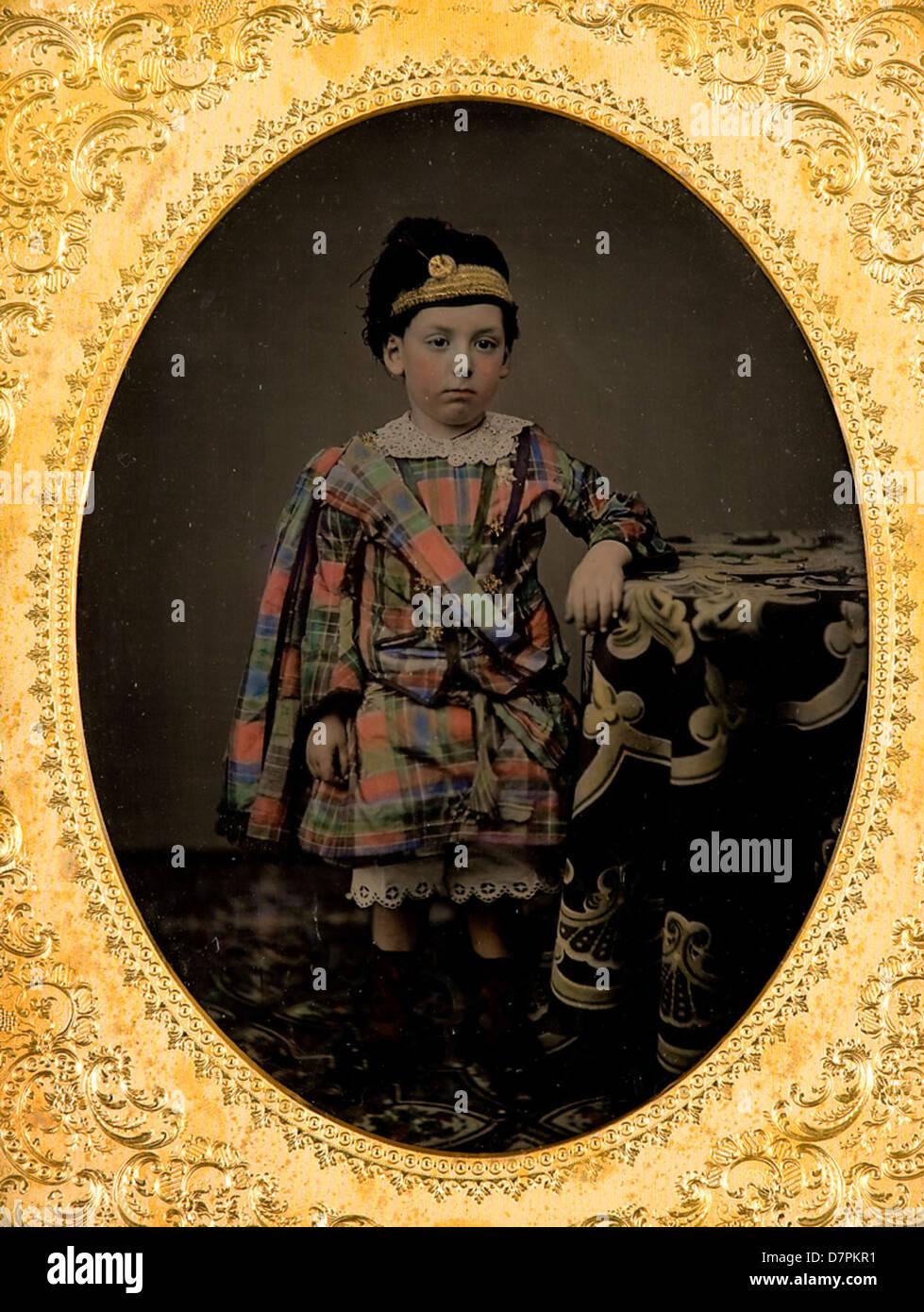 Grand-son of Vice-Admiral Charles John Napier - Stock Image