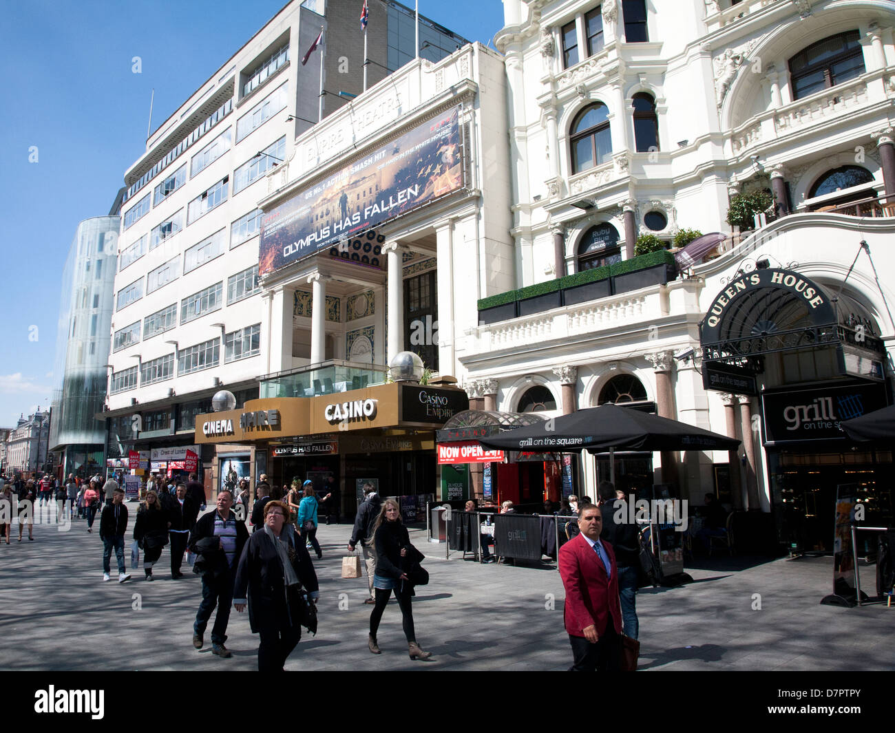 Cinema in Leicester Square, West End, London, England, United Kingdom - Stock Image