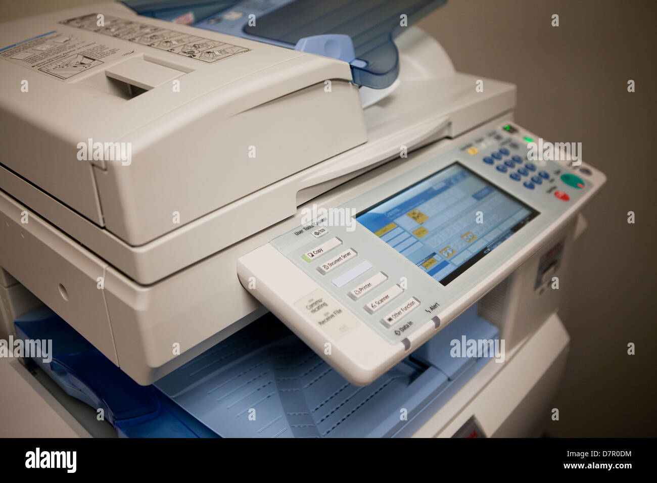 Office copying machine - Stock Image