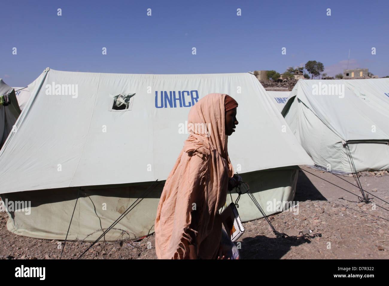 Kharaz Refugee Camp.Yemen 2010 - Stock Image