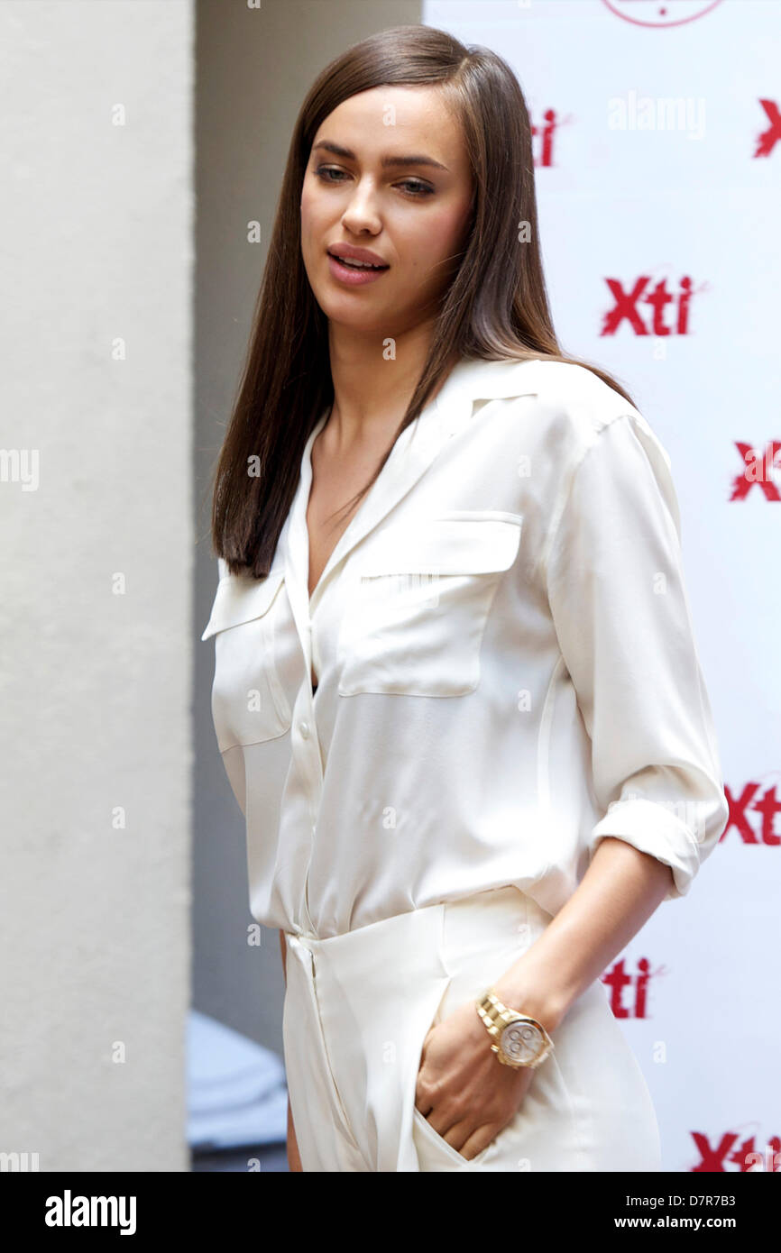 31cee001 Model Irina Shayk attends a presentation of the new Xti shoe collection at  Hospes Hotel. Madrid, 10.05.2013/picture alliance