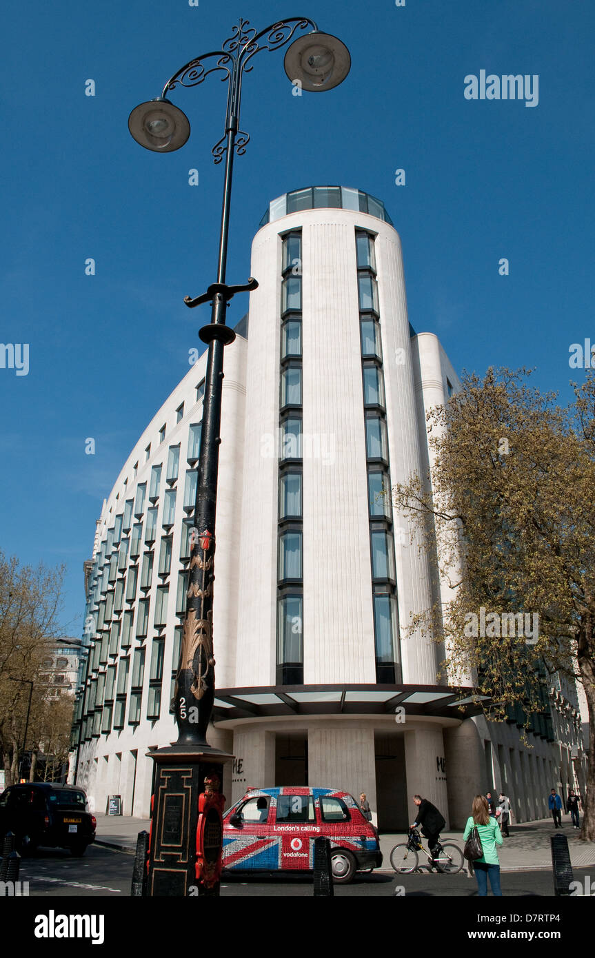 ME Hotel London, designed by Foster + Partners, the Strand, London, UK - Stock Image