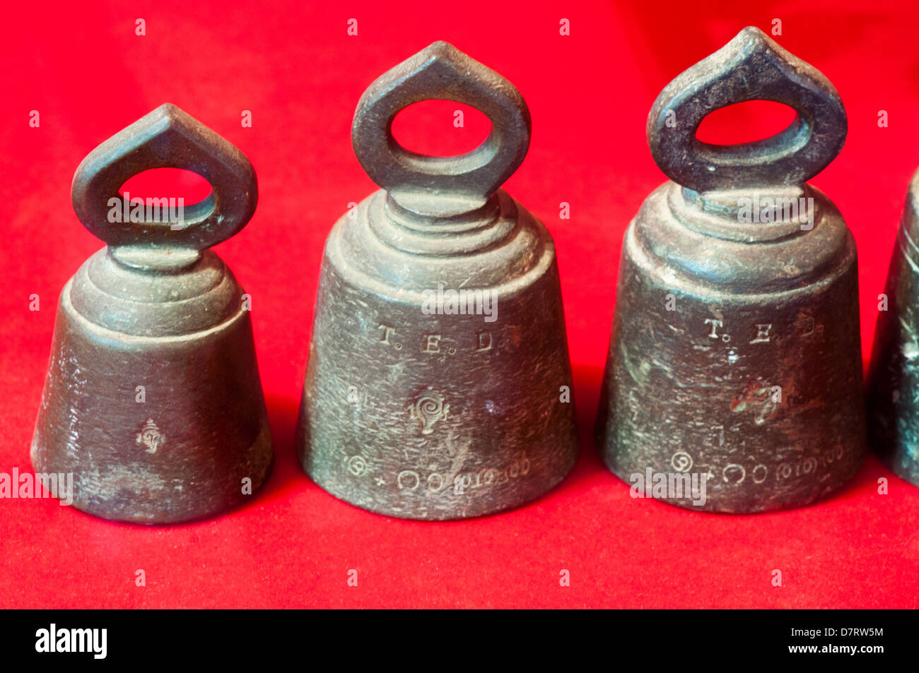 Ranthal - Tolas, unit of measures used in ancient British Indian system - Stock Image
