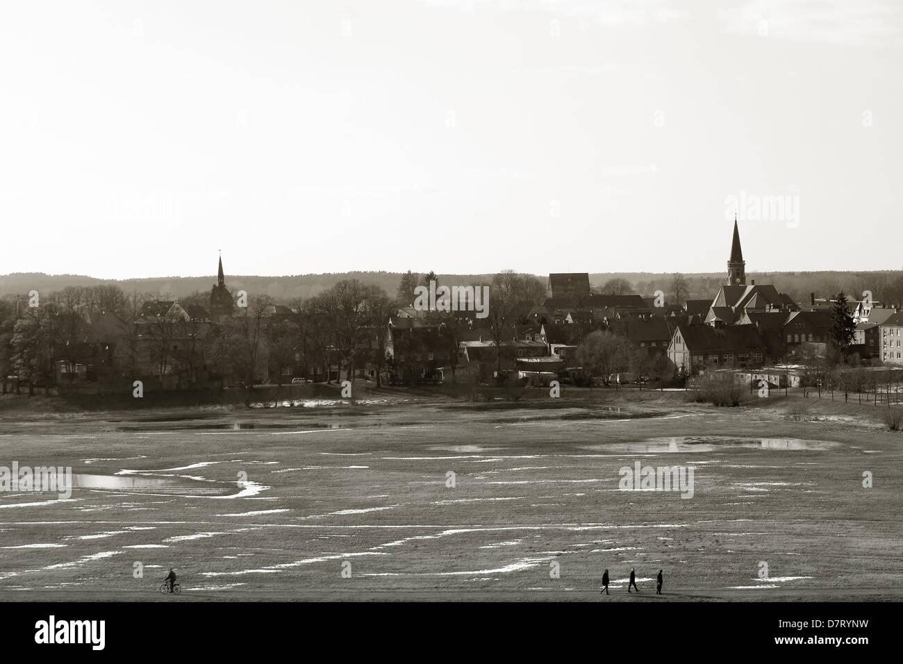 City of Dömitz - Stock Image
