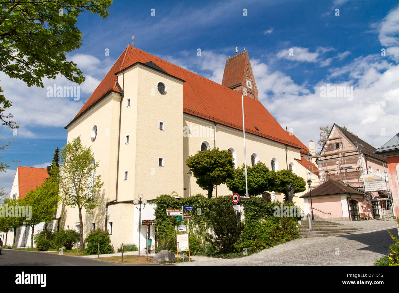 Church in Bad Woerishofen, Germany Stock Photo