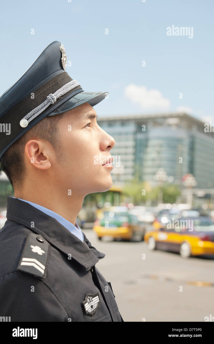 Chinese Police Officer Stock Photos & Chinese Police