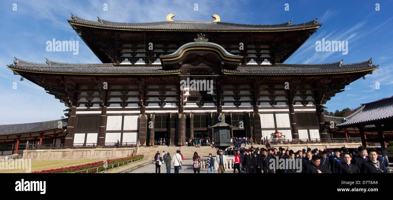Todaiji in Nara, Japan - Stock Image