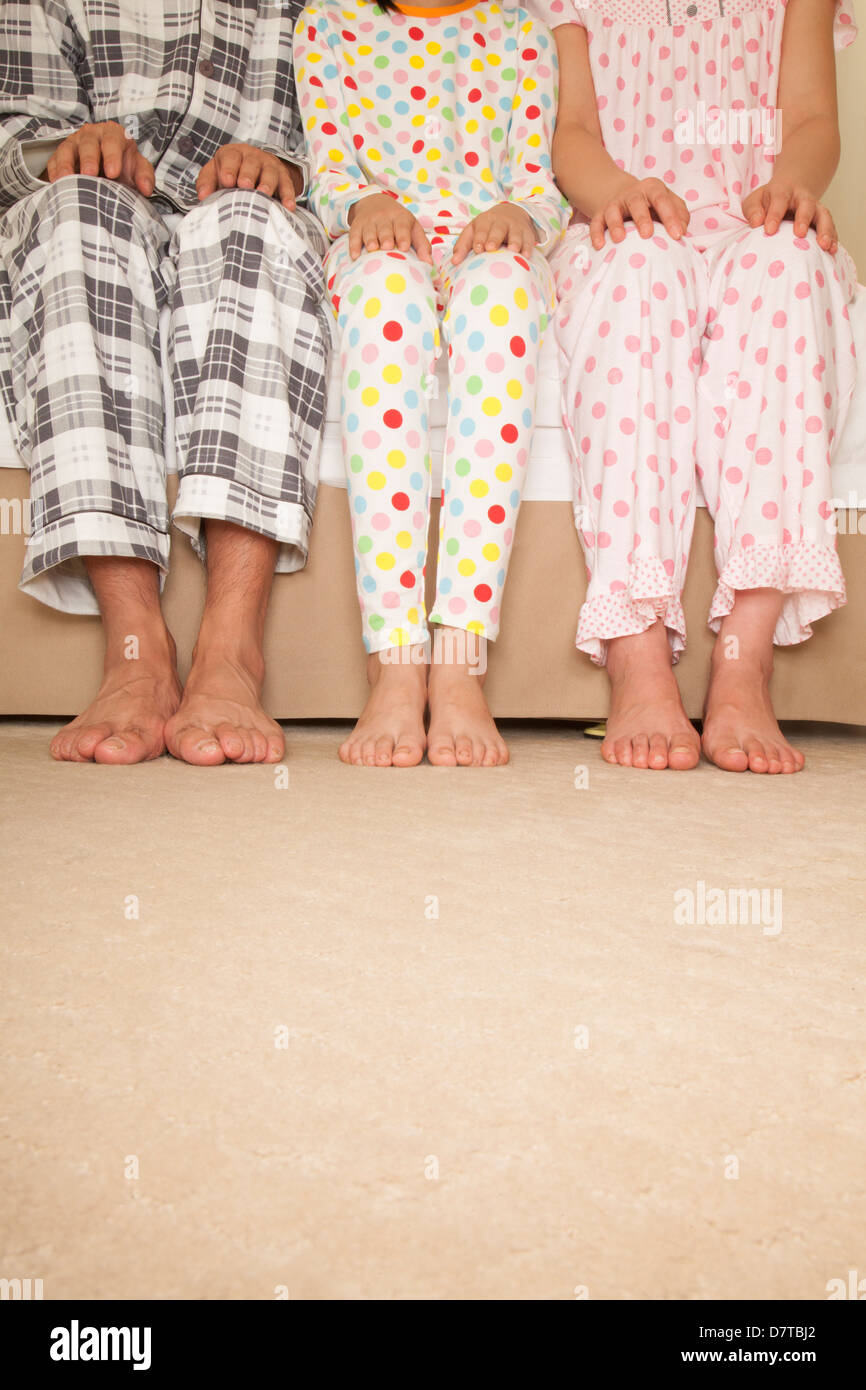 Family Lower Body - Stock Image