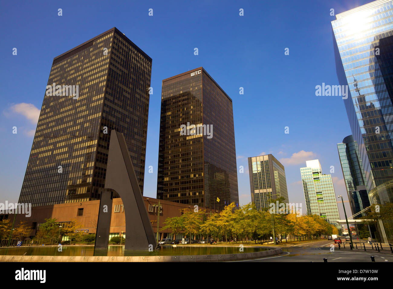 World Trade Centre, Brussels, Belgium - Stock Image