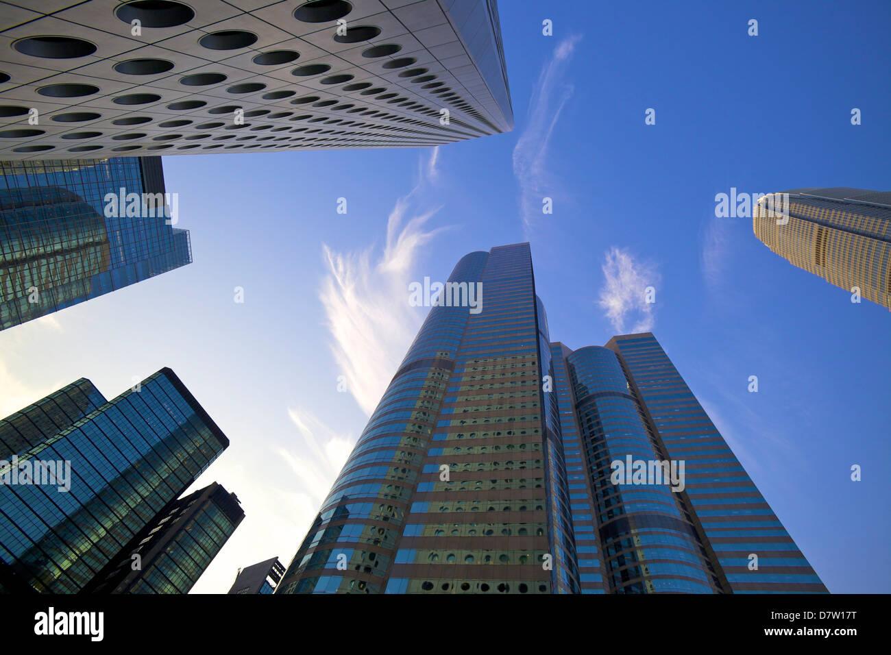 Central Business District, Hong Kong, China - Stock Image