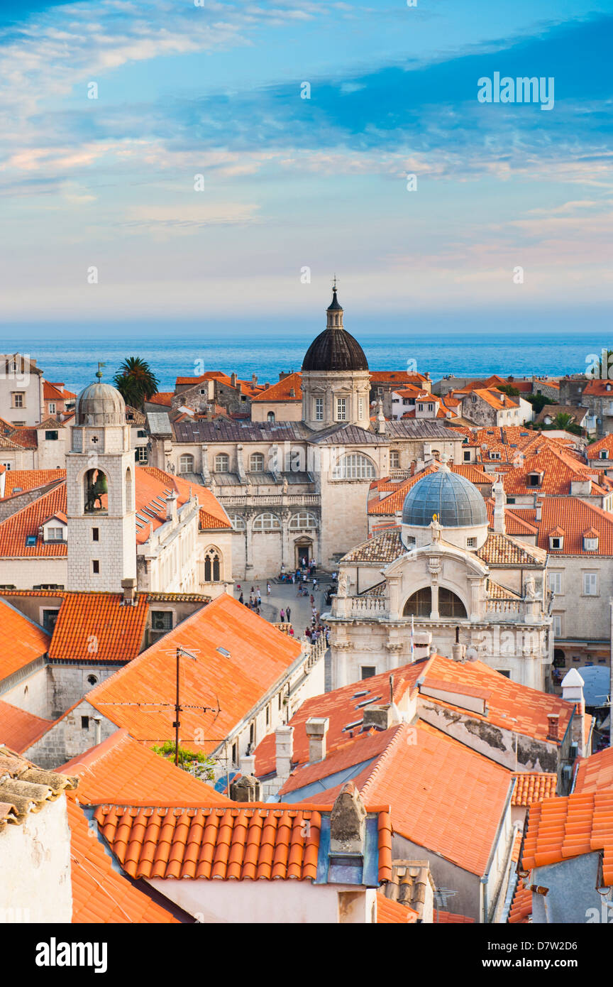 Dubrovnik Cathedral (Cathedral of the Assumption of the Virgin Mary), UNESCO World Heritage Site, Dubrovnik, Croatia - Stock Image