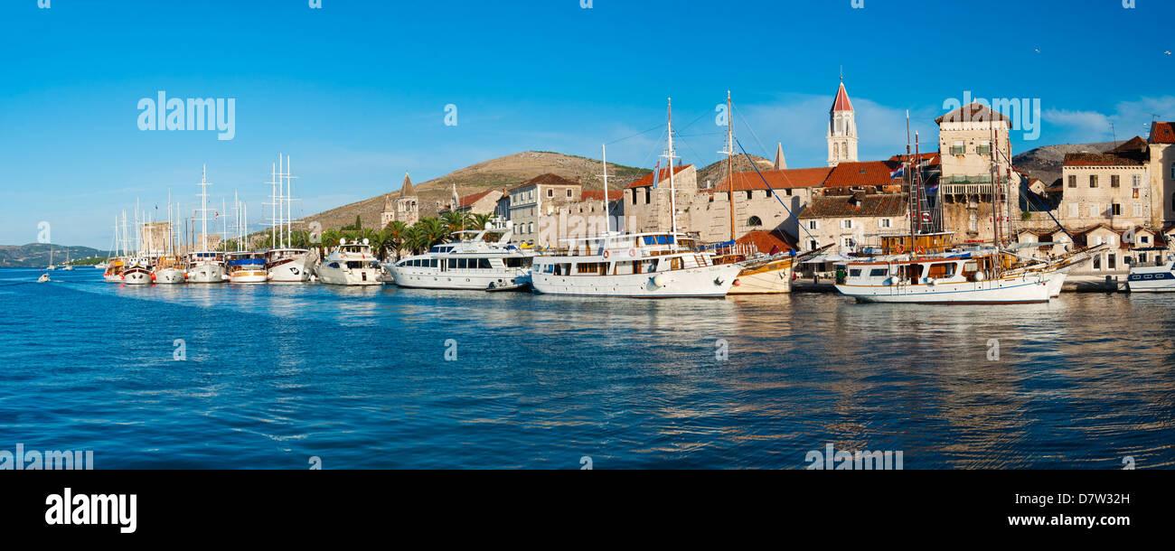 Old Town of Trogir, UNESCO World Heritage Site, Dalmatian Coast, Adriatic, Croatia - Stock Image
