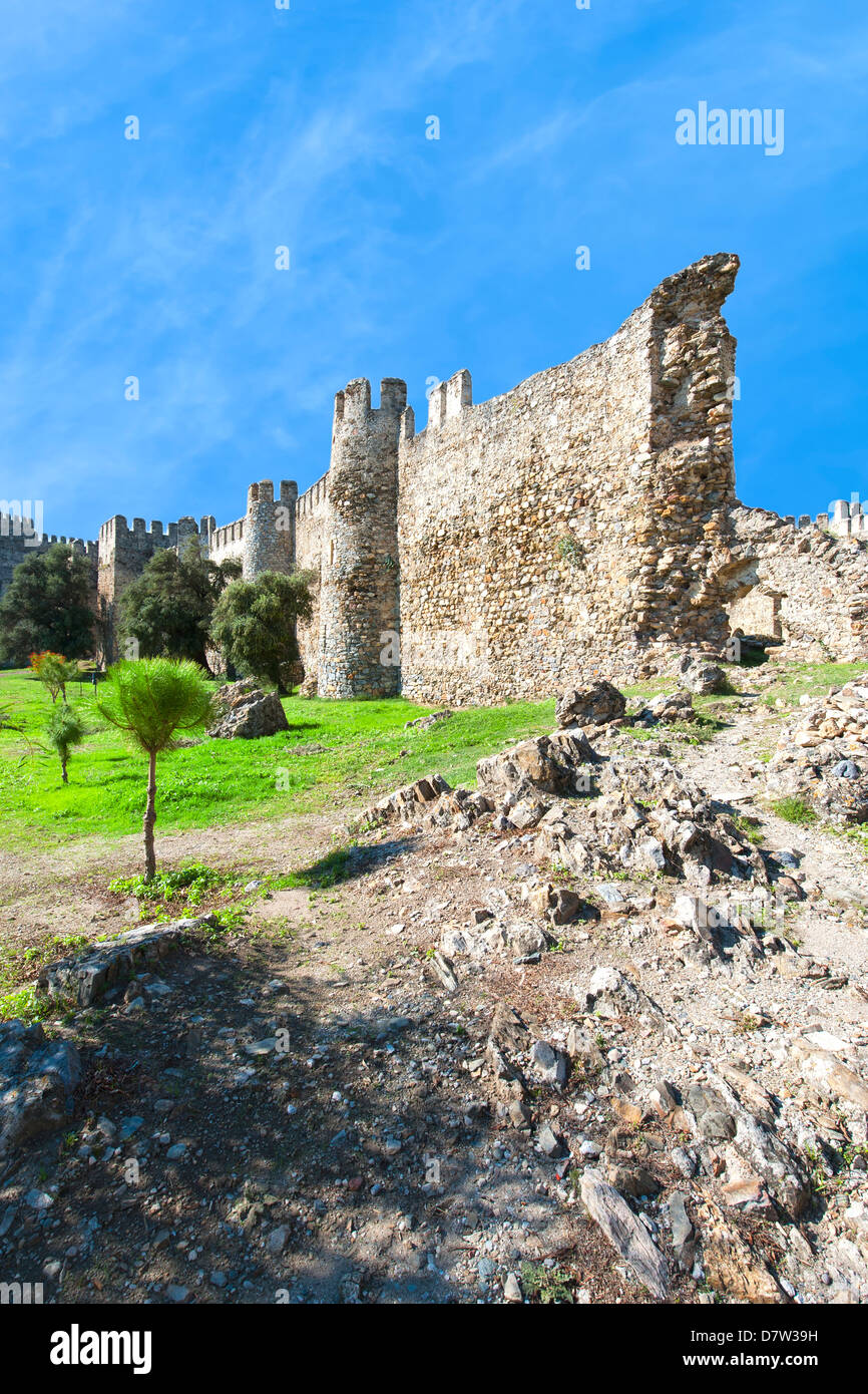 Mamure castle, Anamur, Anatolia, Southwest Turkey Minor - Stock Image