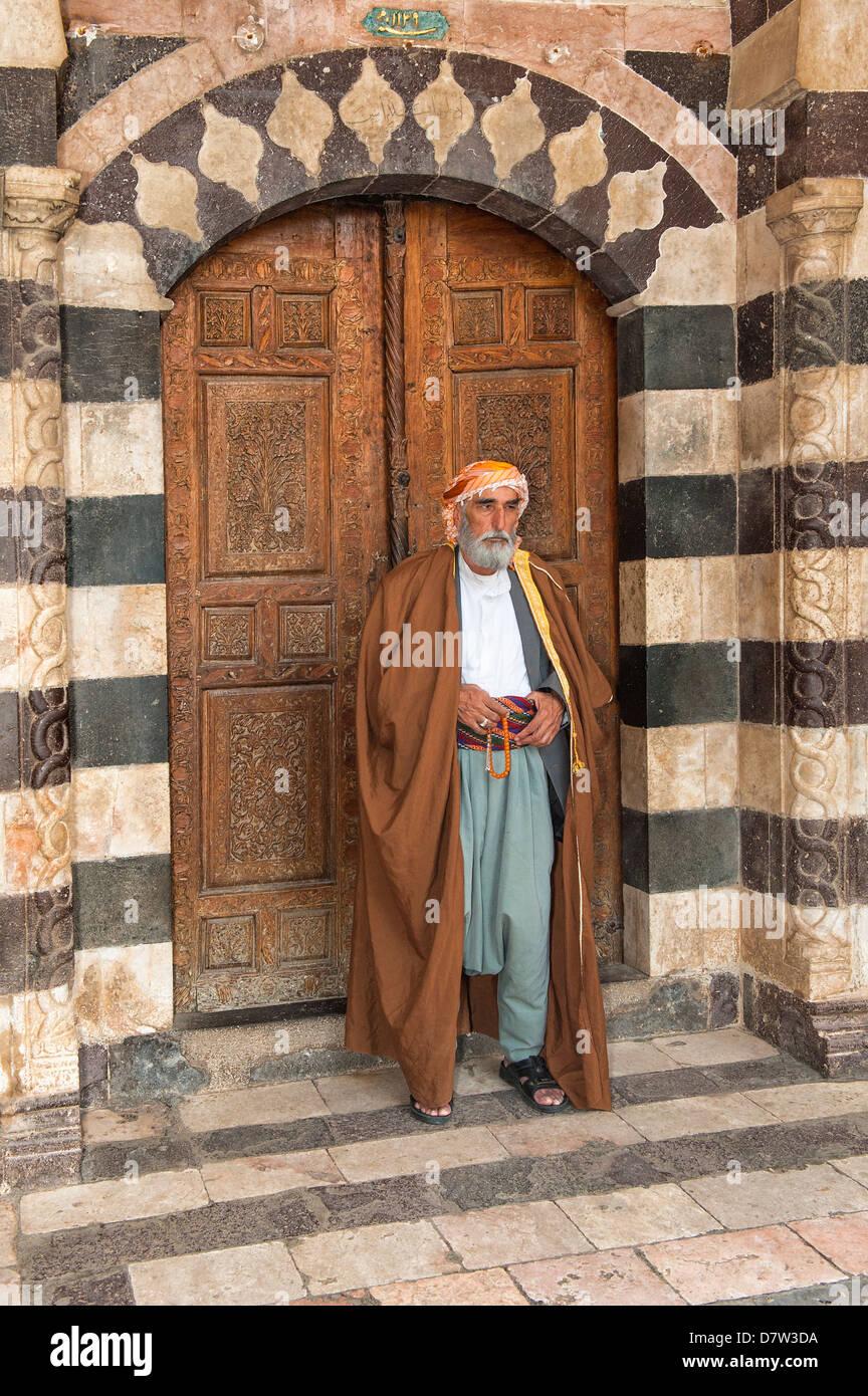 Portrait of a Turkish man, Urfa, Anatolia, Eastern Turkey Minor - Stock Image
