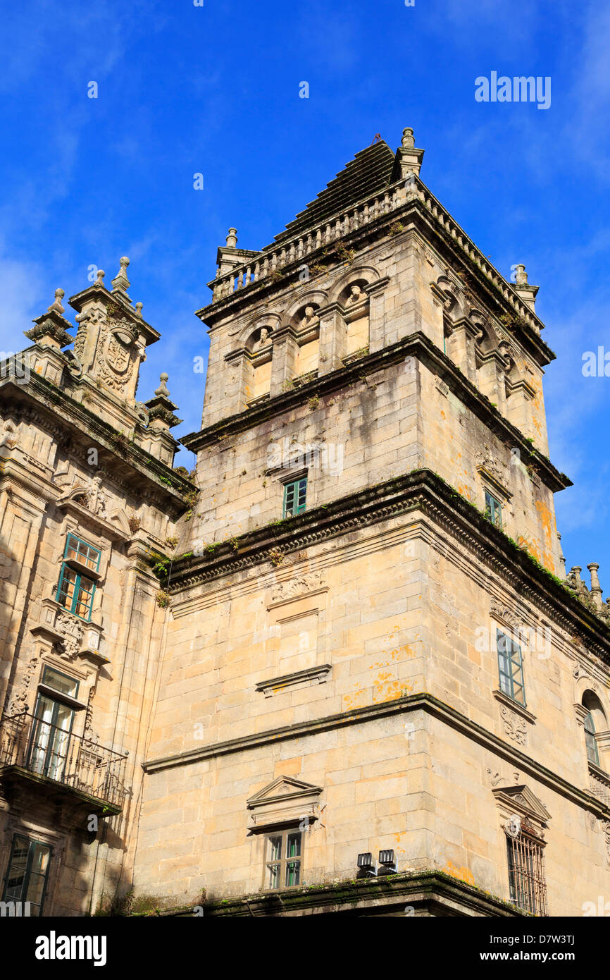 Cathedral, Santiago de Compostela, UNESCO World Heritage Site, Galicia, Spain Stock Photo